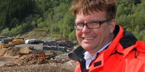 Leif Magne Hjelseng, til daglig direktør i IRIS, har påtatt seg den tunge jobben med å avvikle kommunenes nedstrømsselskap Rekom. Foto: Arnt E. Pedersen.
