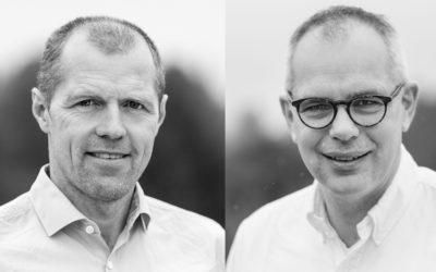 Kjetil Vikingstad og Ralph Schöpwinkwl blir nå de eneste eierne av det raskt voksende Geminor-konsernet.