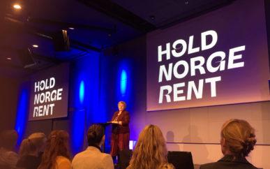 – For en havnasjon som Norge er marin forsøpling et høyaktuelt tema, sa Erna Solberg da hun åpnet årets Hold Norge Rent-konferranse.