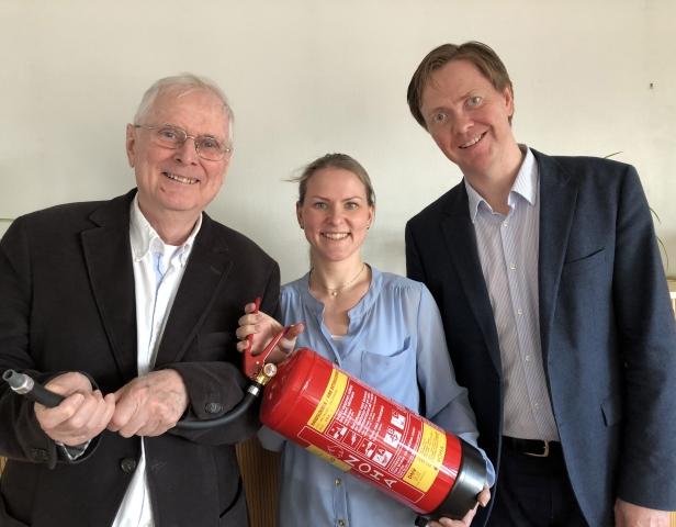 Det er Eirik Wormstrand, Guro Milli og Sverre Valde i Nomiko som har utarbeidet rapporten Branner i avfallsbransjen – årsaker og tiltak.