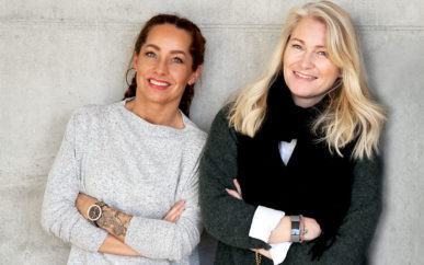 Markedskonsulent Siv-Jeanette Larsen og prosjektleder Cecilie Svabø sier den nye messa vil få et nødvendig og tidsriktig løft både i design og innhold. Foto: Ole Petter Opøien.
