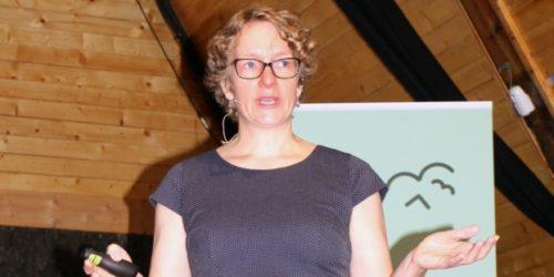 Kjersti Tønnesson Busch, daglig leder i SALT, fikk fram at det mangler mye kunnskap om hvilket omfang miljøproblemet plast i havet egentlig har.
