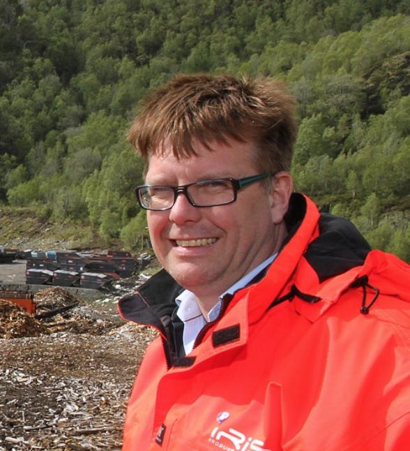 Direktør Leif Magne Hjelseng i Iris Salten er særdeles fornøyd med etableringen av Avfallsmegling Nord as.