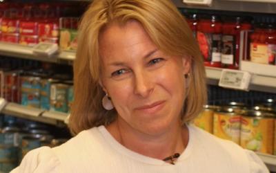 STOLT: Bærekraftsansvarlig Johanne Kjuus i Orkla Foods var glad for anerkjennelsen av sitt utrettelige arbeid for mer gjenvinnbar emballasje.