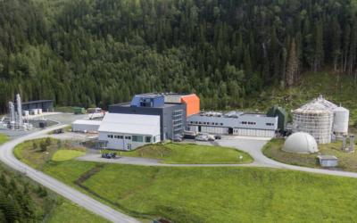 VOKSER: Om et års tid vil Ecopro i Verdal sette i drift en ny råtnetank som vil mer enn fordoble kapasiteten på utråtning.