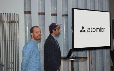 Johannes Schill og Sammy-Sebastian Tawakkoli har sammen etablert handelsplattformen Atomler for gjenvunnet plastråvare. Foto Atomler/Recycling
