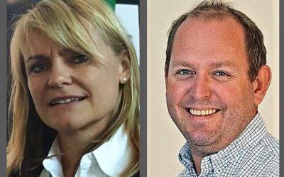 To sentrale personer i utviklingen den høyere fagutdanningen er prosjektleder Marit Lindstad i NFFA og utviklingsleder Fredrik Hafredal i Fagskolen Vestfold og Telemark. Foto NFFA.