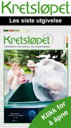 Kretsløpet, magasinet for avfalls- og gjenvinningsbransjen, om avfall, gjenvinning, resirkulering.
